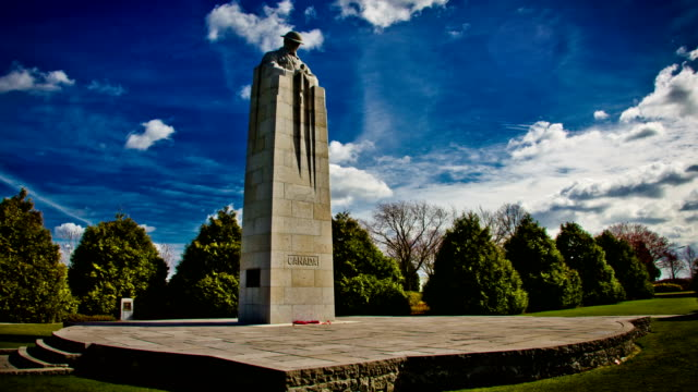 World-war-one-monument-:-canadian-forces-memorial-Ypres