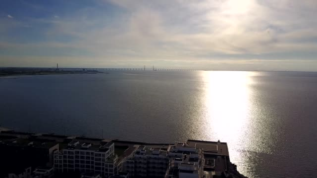 Amazing-aerial-view-from-the-Malmo-Western-Harbour