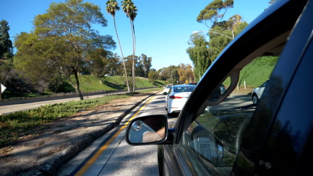 POV-driving-a-car-in-California-in-slow-motion-180fps