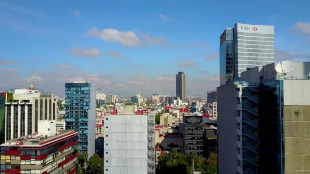 Die-Skyline-der-Stadt-Mexico