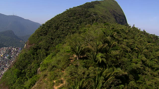 Flying-over-trees-and-hills-Rio-de-Janeiro-Brazil