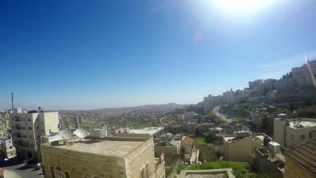 Vista-de-Belén-la-ciudad-natal-de-Jesucristo-Palestina-Israel