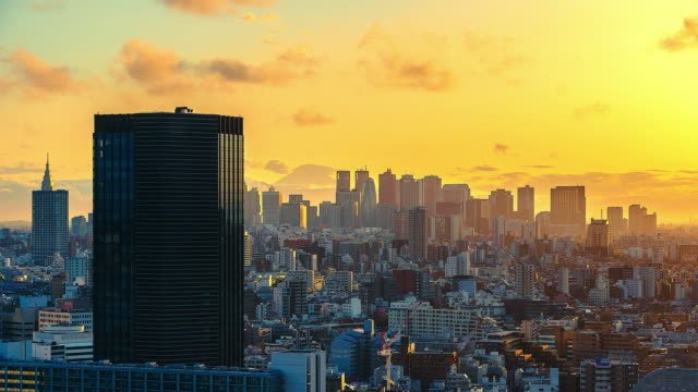 4K-Time-lapse-Cityscape-at-tokyo-citi-of-Japan