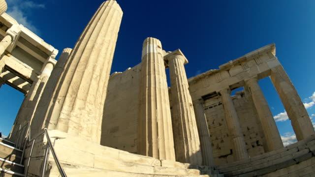 Las-ruinas-de-la-Acropilos-en-Grecia