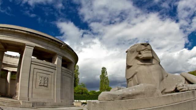 World-war-one-places-of-remembrance-:-british-memorial-ploegsteert-wood