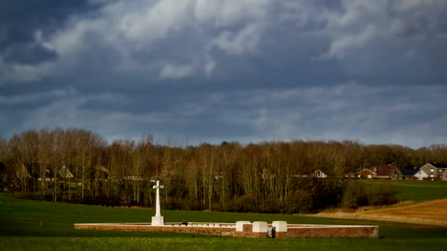 World-war-one-british-military-cemetery-time-lapse