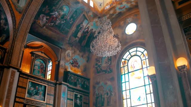 El-Christian-Church-icono-divino-Altar-y-religión-Interior