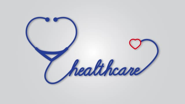 Health---stethoscope-with-heart-icon-Healthcare-medical-concept-motion-graphic-footage