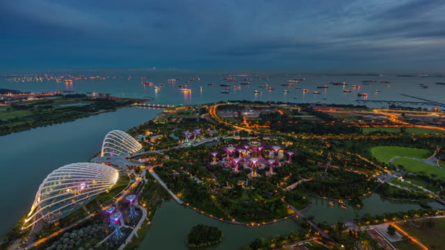 day-till-night-panoramic-roof-top-view-4k-time-lapse-from-singapore