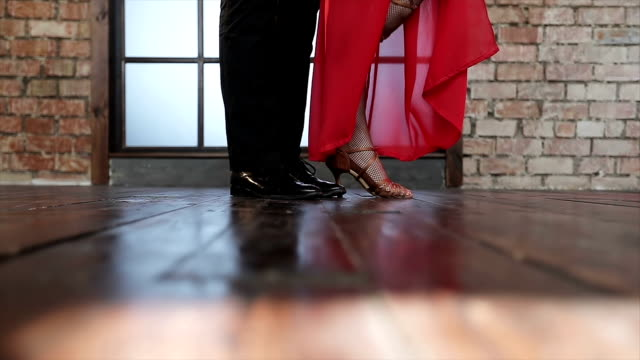 The-legs-of-a-pair-of-dancing-tango-