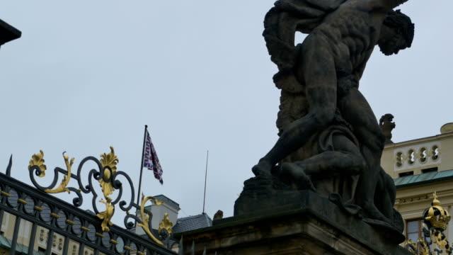 Bandera-de-escudo-de-armas-del-castillo-de-Praga