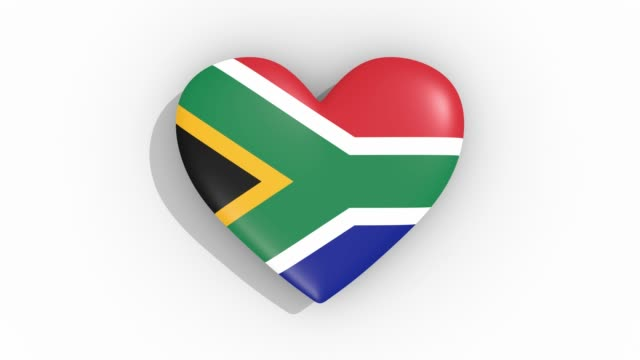 Heart-in-colors-flag-of-South-Africa-pulses-loop