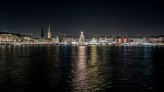 Navidad-en-interior-Alster-en-hamburgo