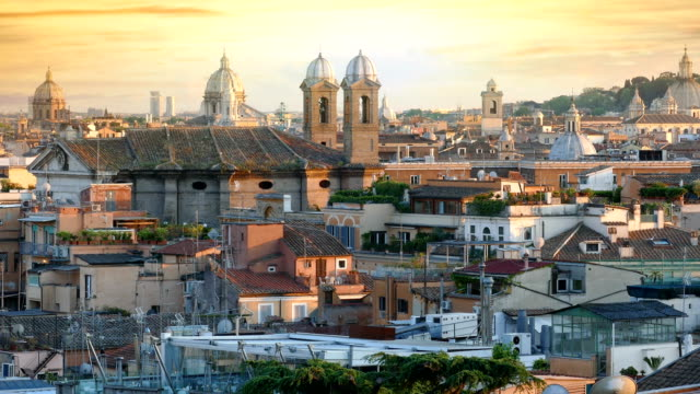 Rome-at-sunset