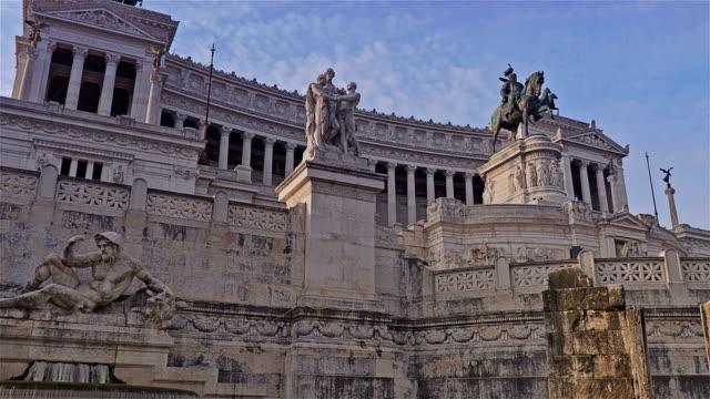 Ciudad-de-Roma-en-Piazza-Venezia-Hyperlapse-Roma-Italia
