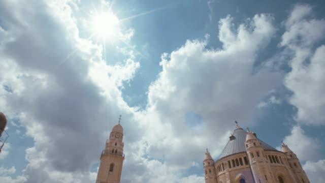 Die-Dormitio-Abtei-in-Altstadt-Jerusalem