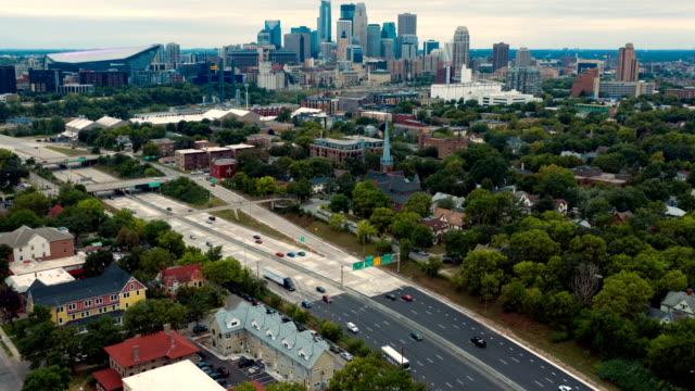Aerial-of-Minneapolis-Skyline---Hyper-Lapse