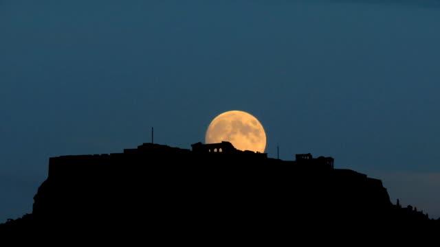 Greece-Acropolis-with-moon-rising