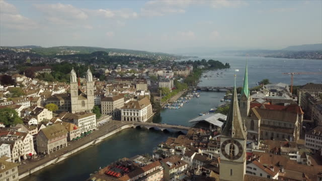 sunny-day-zurich-city-center-lake-view-aerial-panorama-4k-switzerland
