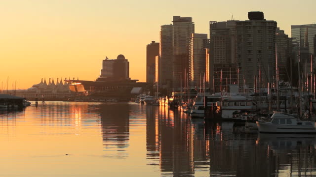 Coal-Harbor-Reflections-Vancouver