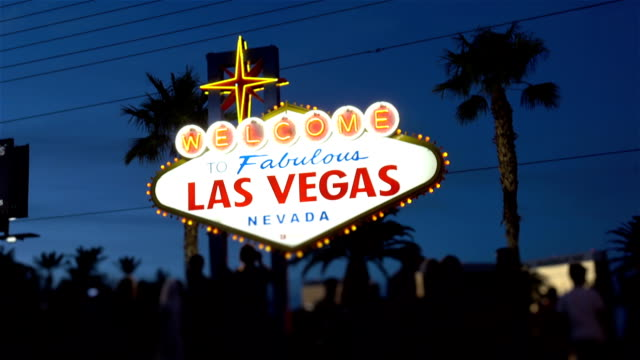 Video-of-welcome-to-fabulous-Las-Vegas-Sign-at-night