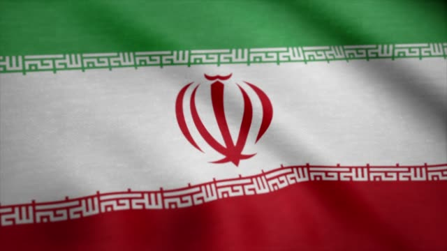 Iran-flag-waving-animation-Flag-of-Iran-waving-on-the-wind