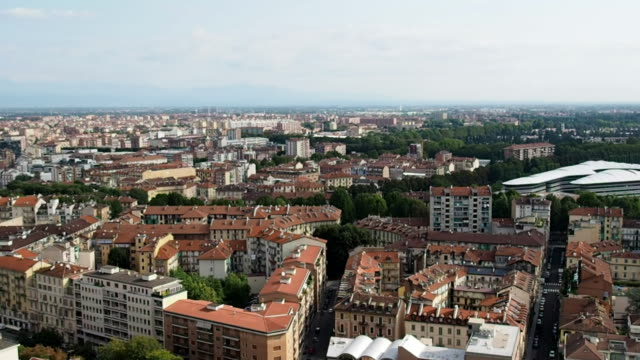 Skyline-of-the-city-of-Turin-in-4k