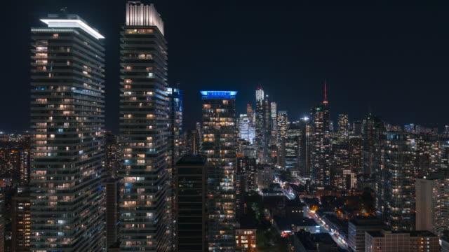 Arquitectura-del-distrito-financiero-de-Toronto-céntrico