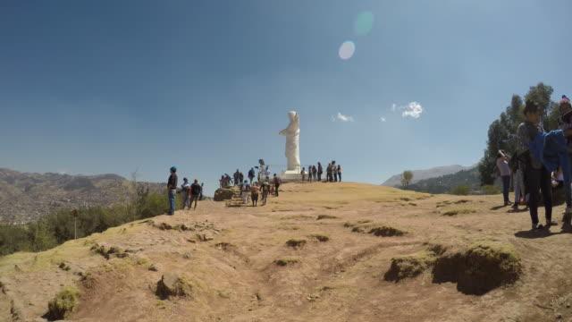 Cristo-blanco-vídeo-de-lapso-de-Cusco-Perú