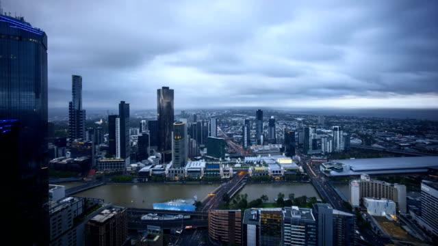 Sunset-at-Melbourne-CBD