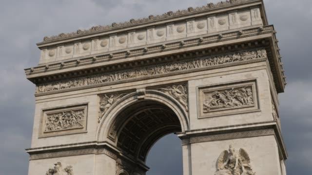 Arc-de-Triomphe-famous-landmark-of-Paris-France
