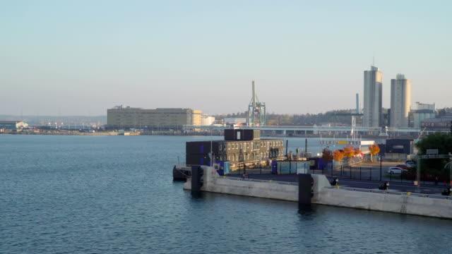 The-port-building-of-Stockholm-in-Sweden
