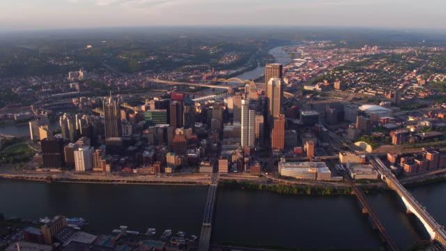 Vista-aérea-de-Pittsburgh-Pennsylvania