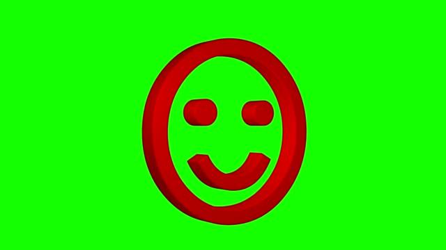 smile-face-emoticon-rotating-green-screen-chroma-key-social-media