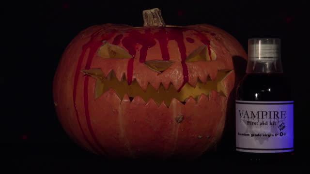 halloween-pumpkin-dripping-blood