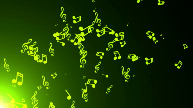 Musiknoten-zu-schweben-Zusammenfassung-Hintergrund