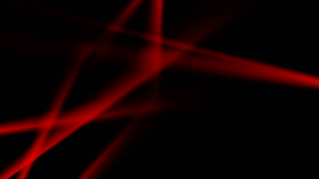 Glowing-neon-red-smooth-stripes-video-animation