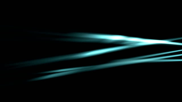 Glowing-neon-blue-smooth-rays-video-animation