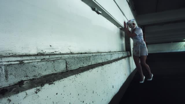 4k-Horror-Nurse-Zombie-Walking-in-Abandoned-Building