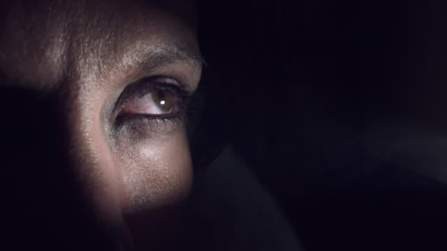 4K-Thriller-Horror-Scared-Eye-in-Smoke