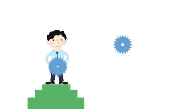 Problem-solving-man-animation