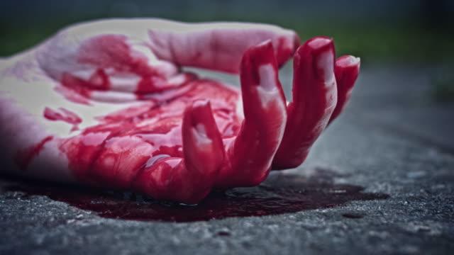 4k-Horror-Bloody-Hand-Falling-Down