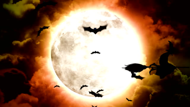Halloween-Bats-and-Witches
