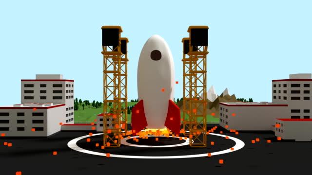 Space-rocket-take-off