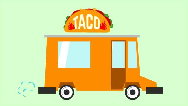 Animation-der-Taco-Lieferwagen