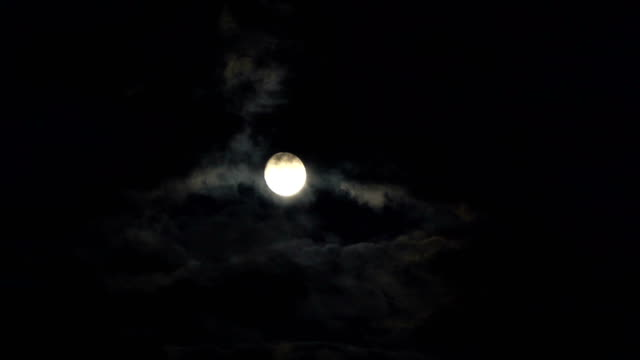 Clouds-passing-by-moon-at-night-Full-moon-at-night-with-cloud-real-time-Details-on-surface-visible