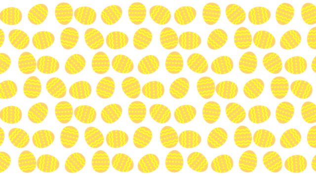 Huevos-de-Pascua-balanceo-loop-animación-4K-sobre-fondo-blanco