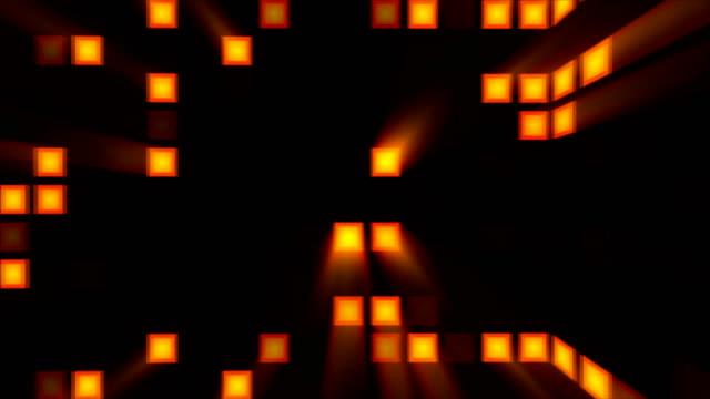 Fondo-abstracto-con-sala-disco-naranja-Render-3D