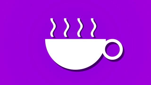 steaming-hot-drink-coffee-tea-animation-loop-background-purple