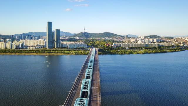 Video-hyperlapse-aérea-de-la-ciudad-de-Seúl-sur-Korea-Timelapse-4k